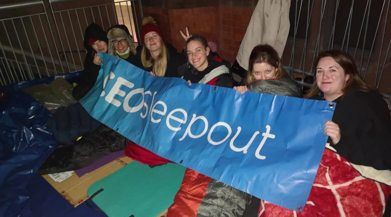 HELP FIGHT HOMELESSNESS BY JOINING THE BIG STUDENT SLEEPOUT
