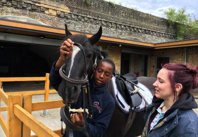 EQUESTRIAN CHARITY HELPS RAISE YOUNG PEOPLES ASPIRATIONS