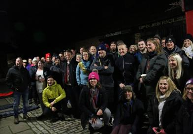 TEESSIDE UNIVERSITY HOSTS STUDENT SLEEPOUT