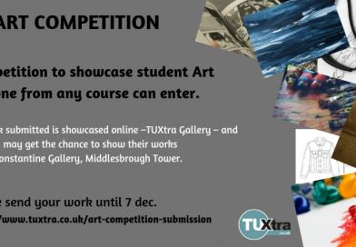 ART COMPETITION – DEADLINE EXTENDED