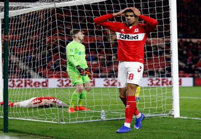BURTON MAKE HISTORY AS BORO'S WINTER OF DISCONTENT GROWS
