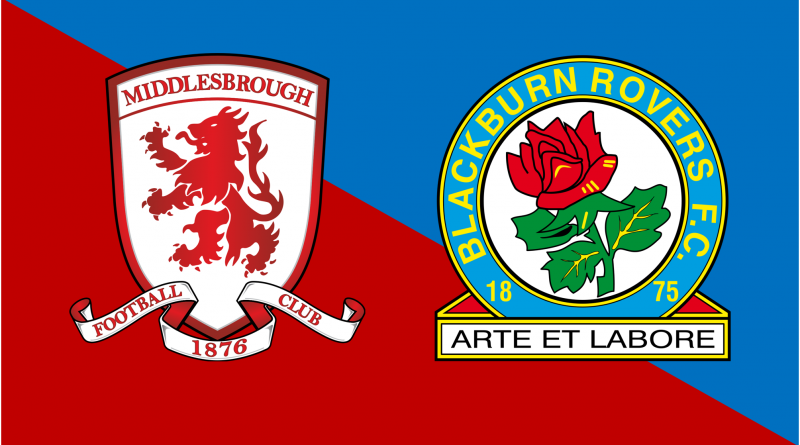 LIVE: Middlesbrough v Blackburn Rovers