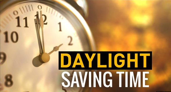 REMEMBER – PUT YOUR CLOCKS FORWARD THIS WEEKEND