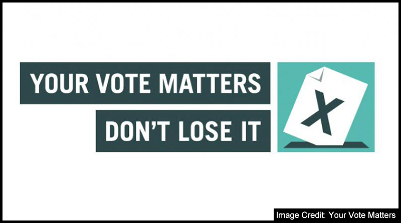 Your Vote Matters - Don't lose it