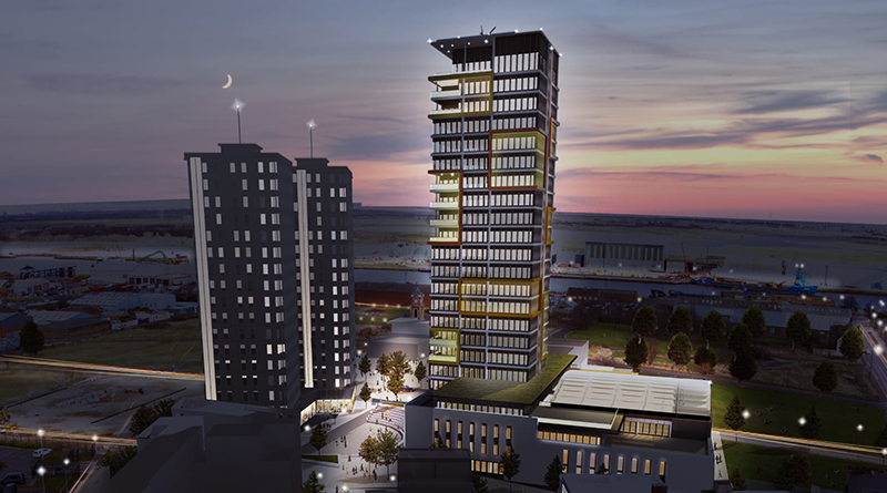 MAYOR ANNOUNCES £250M DIGITAL CITY DEVELOPMENT THAT WILL 'TRANSFORM MIDDLESBROUGH SKYLINE'