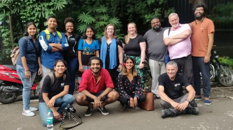 STUDENT COLLABORATION BEGINS IN INDIA