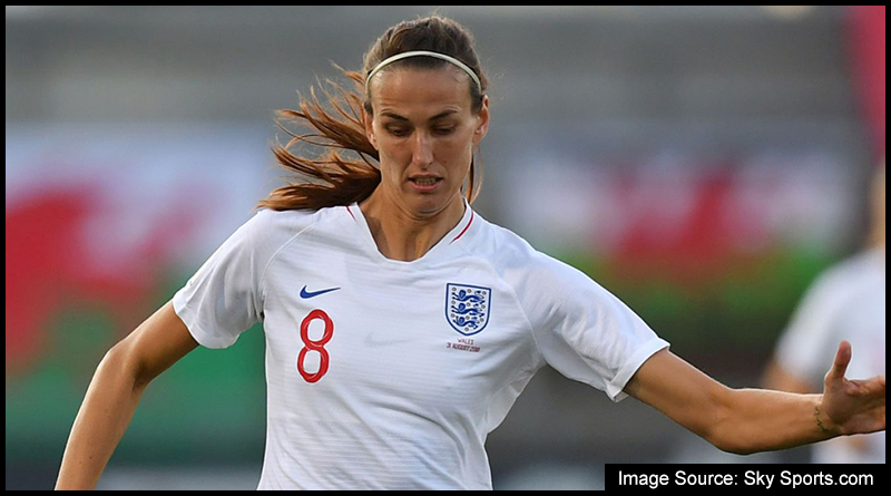 England's Jill Scott, who is just one of a number of player in this weekend's squad to have grown-up in the North-East