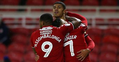 FLETCHER SCORES IN THE RAIN, TO EASE BORO'S PAIN