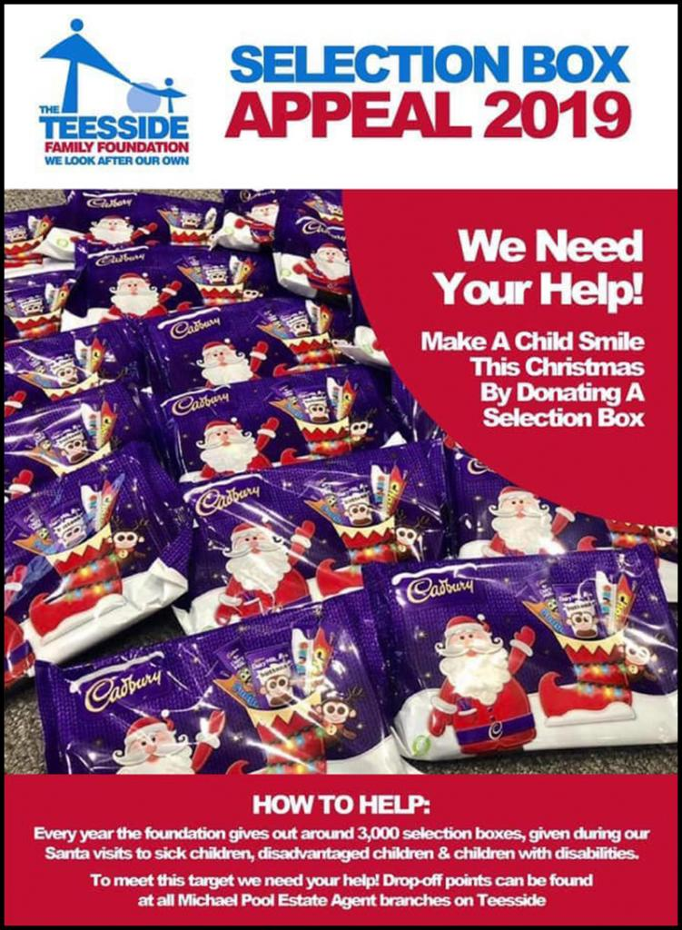 TEESSIDE FAMILY FOUNDATION SELECTION BOX APPEAL 2019