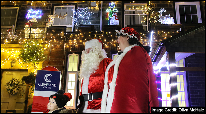 ZOE'S PLACE CHRISTMAS LIGHT SWITCH ON PROVIDES FESTIVE DELIGHT