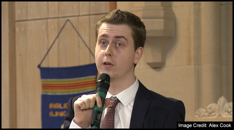 The Liberal Democrat candidate, Thomas Crawford