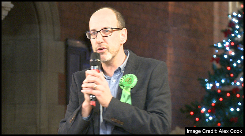 The Green Party candidate, Hugh Alberti