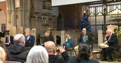 GENERAL ELECTION: ST. BARNABAS HUSTINGS PROVES A LIVELY DEBATE
