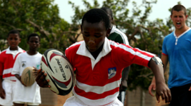 The Changing World programme provides students the opportunity to experience sports coaching in South Africa