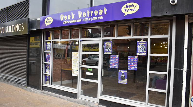 Geek Retreat, the brand new comics & gaming cafe based on Linthorpe Road, opened its door for the very first time this weekend