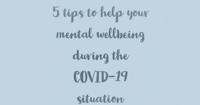 MENTAL WELLBEING – COVID 19
