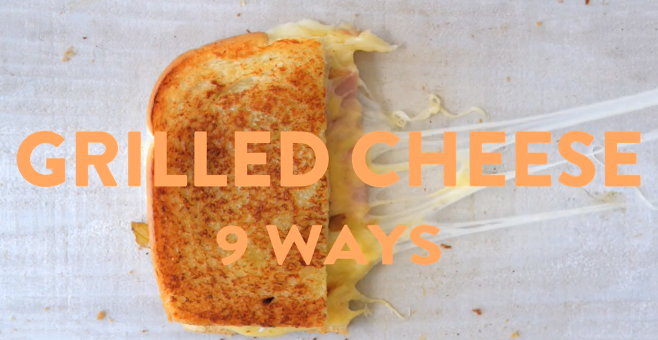 Grilled Cheese 9 Ways