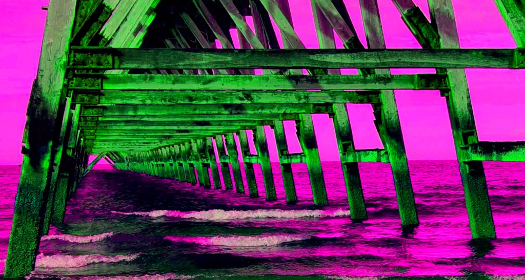 Steetley Pier Dayglo